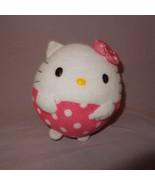 "Hello Kitty Ball Shape Sanrio Ty Beanie Ballz Plush Stuffed Animal 4"" 20... - $9.99"