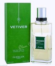 Vetiver by Guerlain Eau de Toilette Spray 3.4oz 100ml * New in Box Sealed * - $46.05
