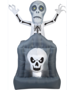 Scary Halloween Decorations Airblown Pop Up Ghost Haunted House Prop Par... - $1.888,84 MXN
