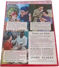 Vintage 1935 Ivory Flakes Advertisement - $5.95