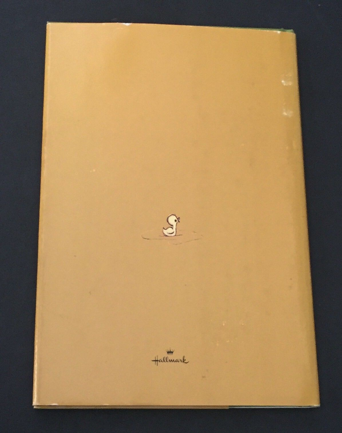 Vtg The Gold Of Friendship Hallmark Book 1967 Small Hardcover Friends Gift