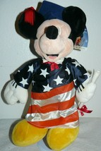 "Disney World Graduation Mickey Mouse Plush 15"" - $19.06"