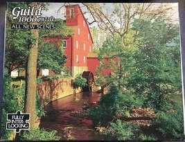"""1000 Piece Puzzle """"The Red Mill"""" [Brand New] - $34.24"""