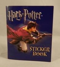 Harry Potter Miniature Sticker Book 2006 Warner Brothers Running Press 3In. - $5.88