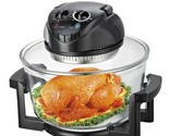 NUTRICHEF Halogen Oven / Infrared Convection Cooker, Healthy Kitchen Countertop