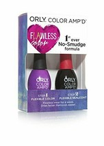 Orly Color Amp'd Launch Colour Nail Polish Kit, Valley Girl 11 ml by Orly - $15.96