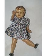 Rare Vintage Post War England English doll 72 years old 1946 original cl... - $85.49