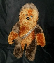 "22 ""building a bear star wars chewbacca chewie fluffy plush animal babw - $31.44"