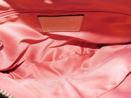 Coach Poppy Metallic Leather Whipstitch Hippie Convertible Bag 19014 Platinum image 9