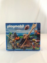 New Playmobil Knights 6039 Royal Lion Knights Catapult Building Toy Playset - $37.39