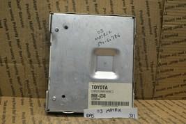 2003 2004 Toyota Matrix Engine Control Unit ECU 8966602340 Module 311-10A5 - $34.23