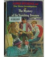 Three Investigators MYSTERY VANISHING TREASURE 1st 1st Alfred Hitchcock hc - $24.99