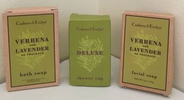 Crabtree & Evelyn Facial Soap & Deluxe Shower Cap - $7.91