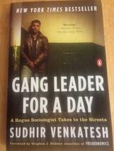 Gang Leader For A Day Sudhir Venkatesh Penguin Paperback 2008 - $8.99
