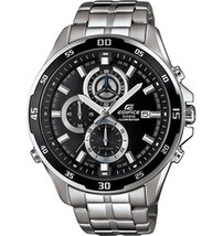 Casio Edifice Chronograph Black Dial Men's Watch - $79.30
