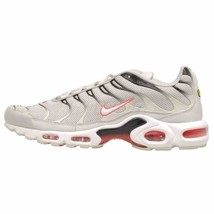 MEN'S NIKE AIR MAX PLUS SHOES light bone white black 852630 030 - $148.67