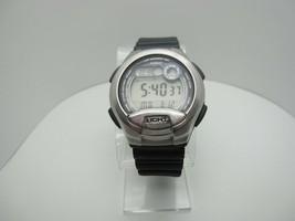 Casio Dual Time 10 Bar Water Resistant Digital 5 Alarm 60 Lap Memory Wat... - $23.71
