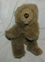 Folkmanis Grizzly Bear Cub Puppet Folktails Folk Tails Stuffed Plush Brown Hand - $24.64
