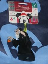 Disney Store Evil Queen / Hag of Snow White 2018 Sketchbook Ornament. New. - $58.29