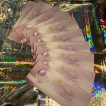 ONE Tatcha The Pearl Sample Card (3 Packets Per Card) NEW AND FRESH image 5