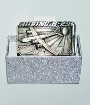 Vintage Boeing B-29 Airplane belt buckle - $20.00