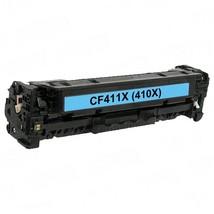 Replacement Cyan CF411X (HP 410X) High Yield Laser Toner Cartridge for H... - $57.93