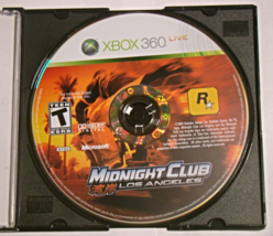 Xbox 360 - Midnight Club Los Angeles (Game Only) - $10.00