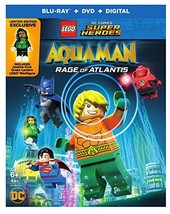 LEGO DC Super Heroes: Aquaman: Rage of Atlantis [Blu-ray + DVD + Digital]