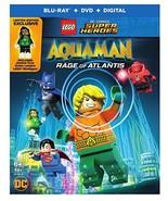 LEGO DC Super Heroes: Aquaman: Rage of Atlantis [Blu-ray + DVD + Digital] - $8.95