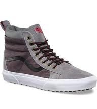Vans Sk8 Hi MTE Frost Gray Ballistic Skate Shoes Mens Size 7.5 - $64.95