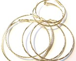 Ea81 three pr gold hoop earrings thumb155 crop