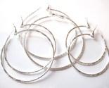 Ea82 three pr silver hoop earrings thumb155 crop