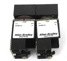LOT OF 2 ALLEN BRADLEY 800MB-XO SER. A OPERATOR FOR PUSHBUTTON SWITCHES 800M-XD1 image 1
