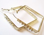 Ea87 cz square gold hoop 2 in thumb155 crop