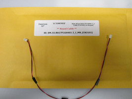 "Emerson 32"" LC320EM2F Main Board BA17F1G0401 2_1 Cable [CN3101] to Keypad - $14.95"