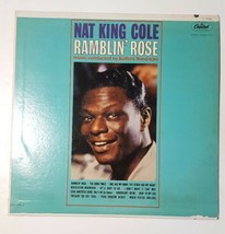 Nat King Cole Ramblin' Rose LP 1962 Mono Capitol T 1793 Vinyl Record - £8.69 GBP