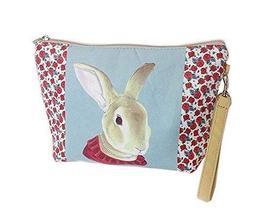Cute And Unique Rabbit Canvas Cosmetic Bags/Purse