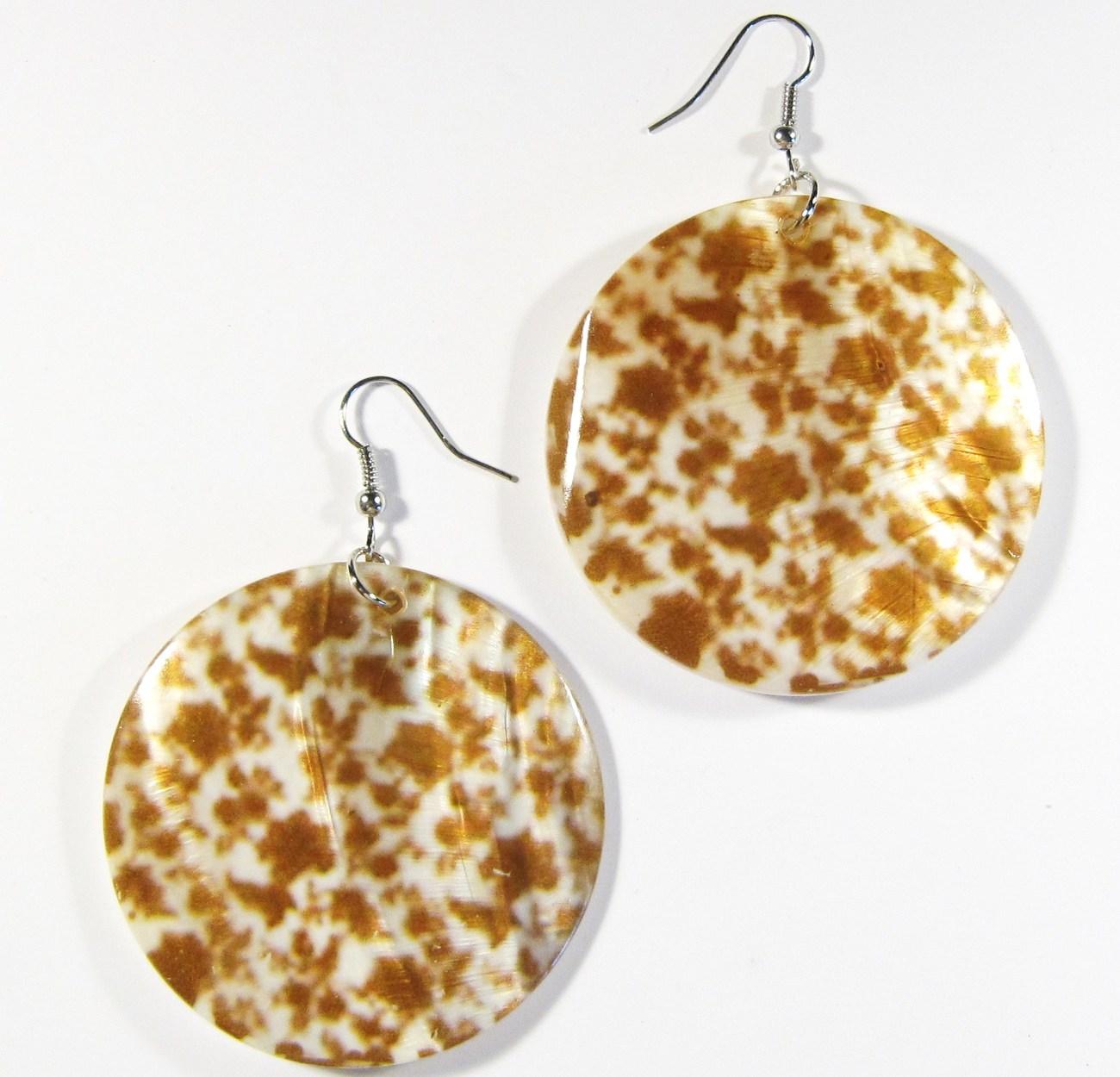 Ea141 shell earrings