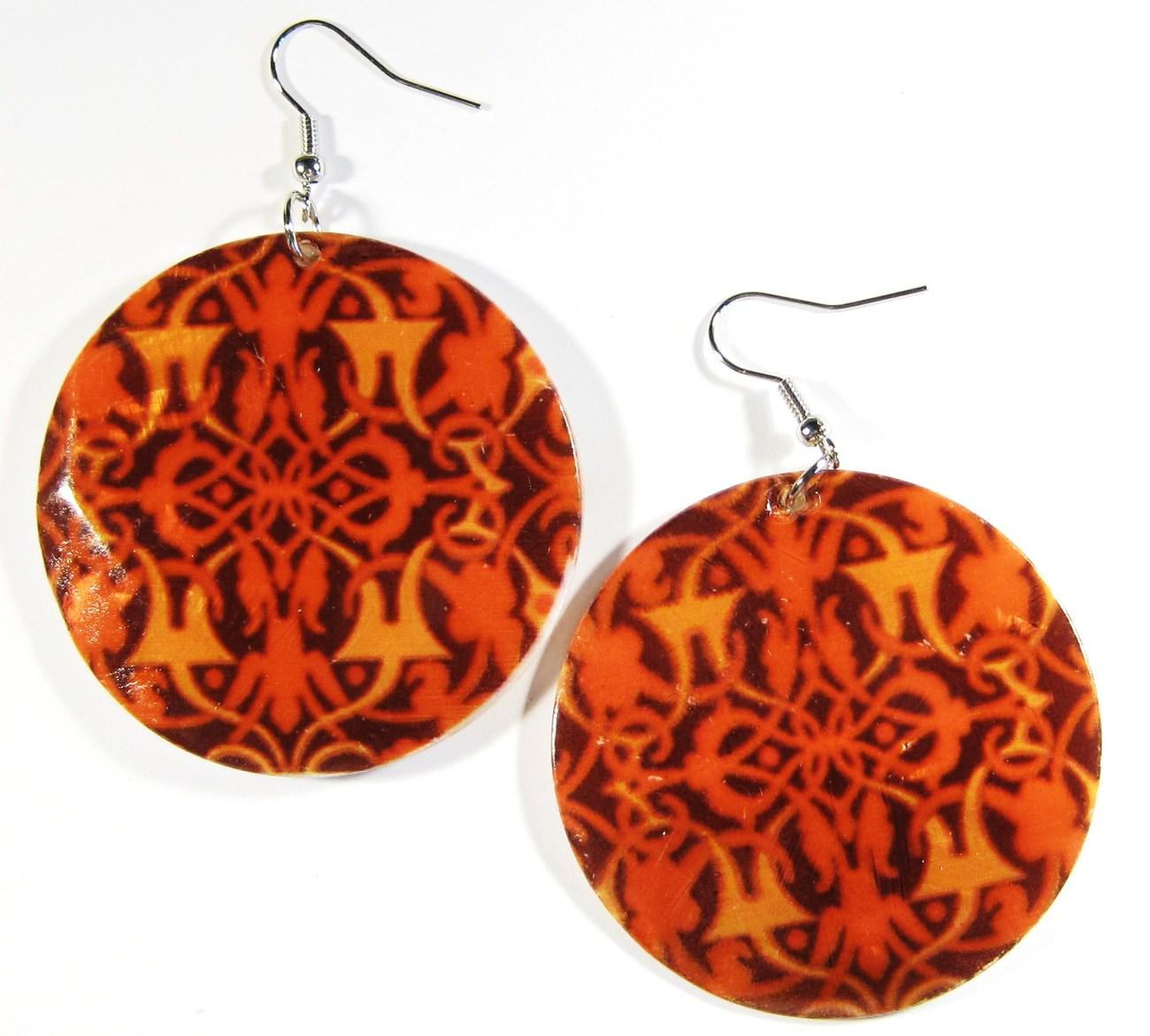 Ea142 shell earrings
