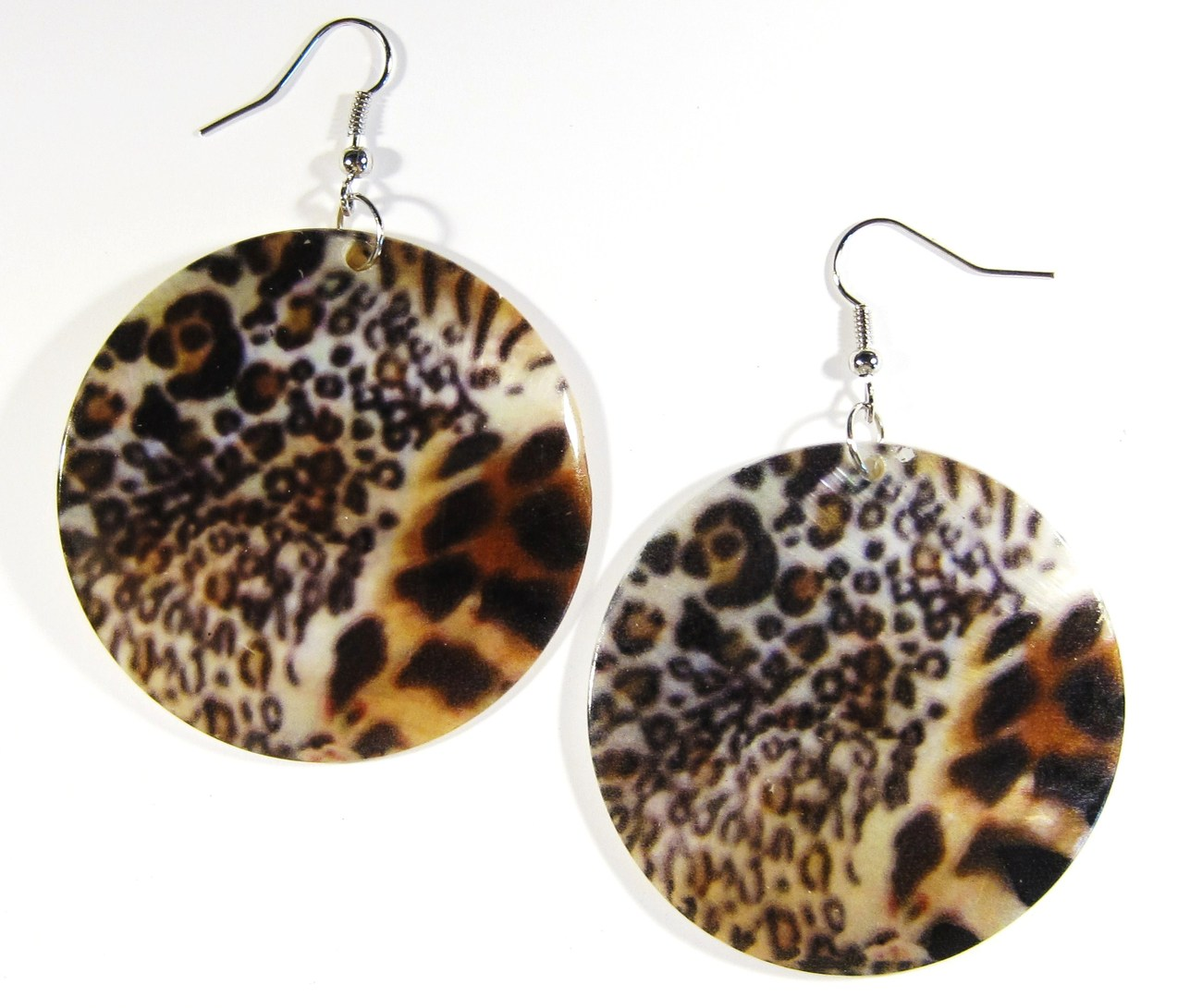 Ea145 animal print shell