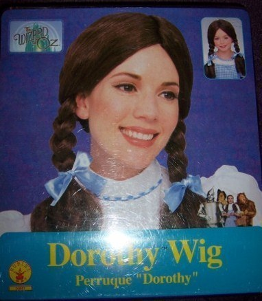 Wizard of Oz Dorothy Costume Wig NEW Adult or Child