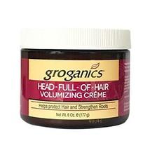 Groganics Head Full of Hair, 6 oz Pack of 2 - $37.44