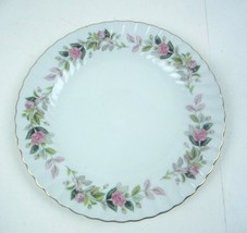 """Regency Rose 2345 by Creative Fine China Luncheon Plate 9 3/8""""  Japan - $9.48"""
