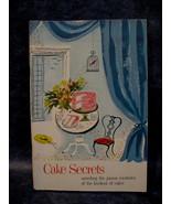 Vintage 1953 Cake Secrets Desserts Cookies Recipes Cookbook Collector Ba... - $9.95