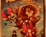 Madagascar 3 Europes Most Wanted (2012 DVD Widescreen) Kids Animated Pre Owned