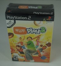 NEW SEALED EYETOY PLAY 2 GAME WITH USB CAMERA FOR SONY PLAYSTATION 2 PS2 - $14.84