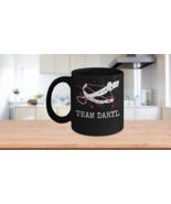 Team Daryl Walking Dead Coffee Mug Norman Reedus Crossbow Makes a Great ... - $15.67