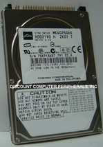 "NEW MK4025GAS Toshiba HDD2190 40GB 2.5"" 9.5MM IDE 44PIN Hard Drive Free USA Ship"