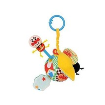 New Bandai Anpanman Baby Labo Crispy Pulling Toy Great Satisfaction Kid F/S - $38.52