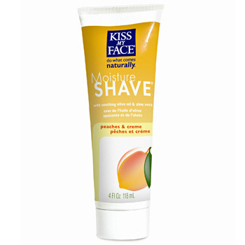 Kiss my face peaches and creme moisture shave